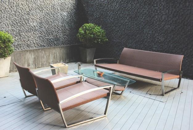 Loungesæt til terrassen